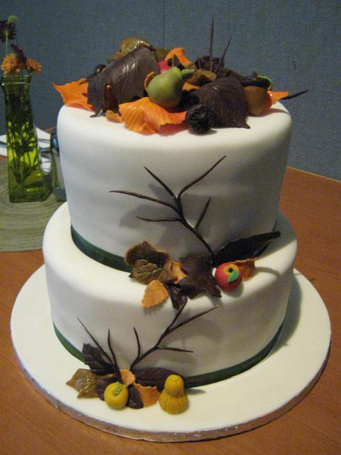 Final fondant cake