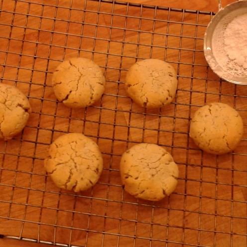 GF almond butter cookies