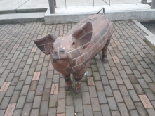 Brickwork pig