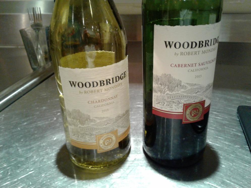 Last bit of wine...