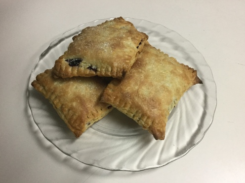 Blackberry turnover