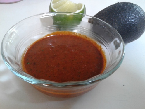 Guajillo and Chipotle marinade